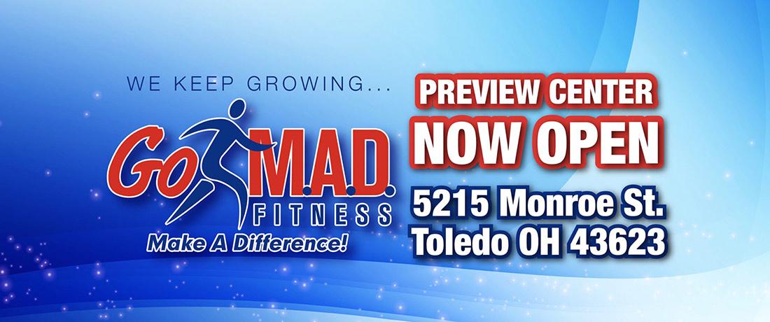 Go M.A.D. Fitness Toledo Header
